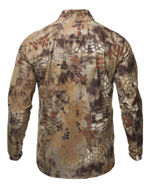 Kryptek Valhalla 2 Long Sleeve Zip Shirt - Men's
