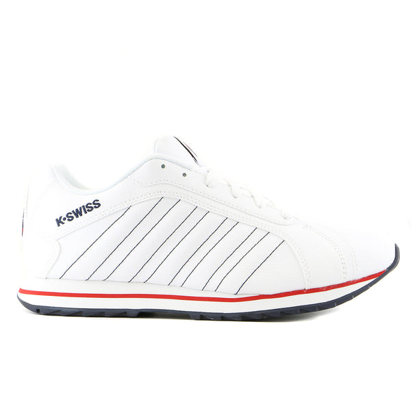 K-Swiss Verstad III Sneaker - White/Navy/Red - Mens