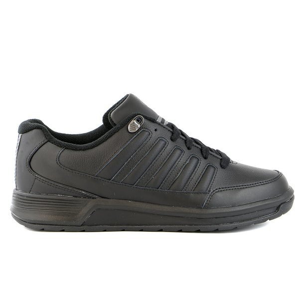 K-Swiss Berlo III Limited Edition Tennis Sneaker Shoe - Black/Charcoal - Mens