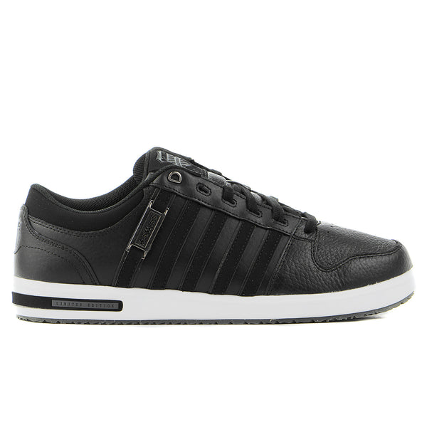 K-Swiss Palisades II Fashion Sneaker Shoe - Black/White - Mens