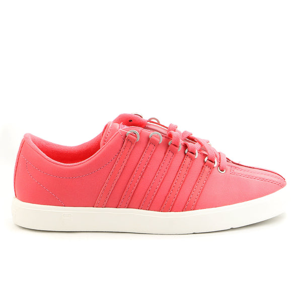 K-Swiss The Classic Lite P Fashion Sneaker - Calypso Coral/Blanc - Womens