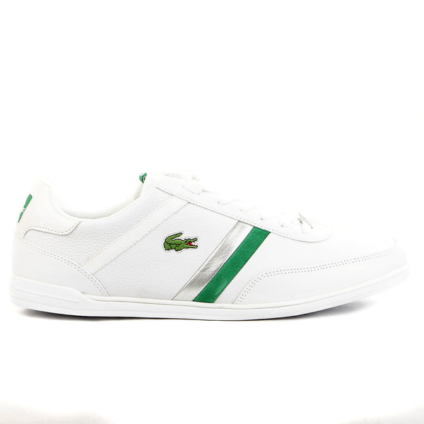 Lacoste Giron SLX SPM Leather Fashion Shoes - White - Mens