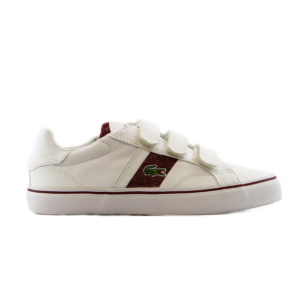 Lacoste Fairlead WW Spc Casual Shoe  - White - Boys