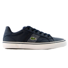 Lacoste Fairlead Ww Spc Casual Shoe  - Blue / Dark Grey - Boys