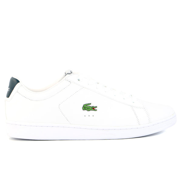 Lacoste Carnaby EVO Shoes - White/Dark Blue - Mens
