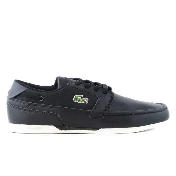 Lacoste Dreyfus TWD SPM Fashion Sneaker Boat Shoe - Black - Mens
