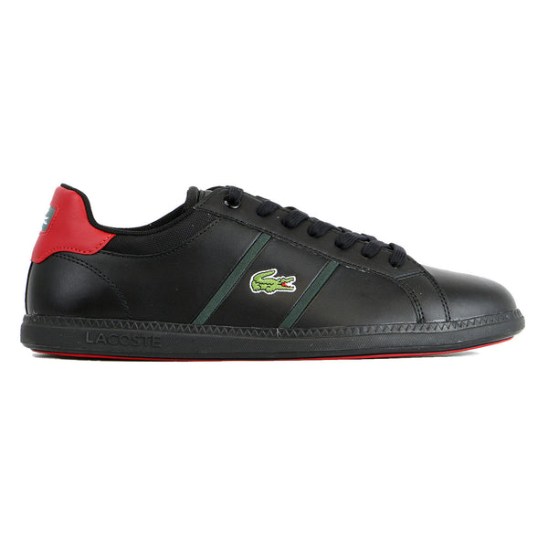 Lacoste Graduate Shoes - Black/Red - Mens