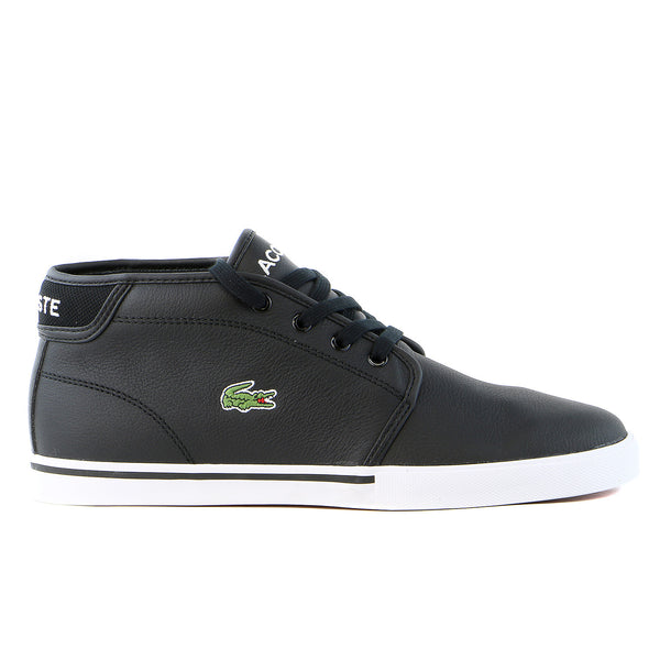 Lacoste Ampthill LCR Mid Fashion Sneaker Shoe - Black - Mens