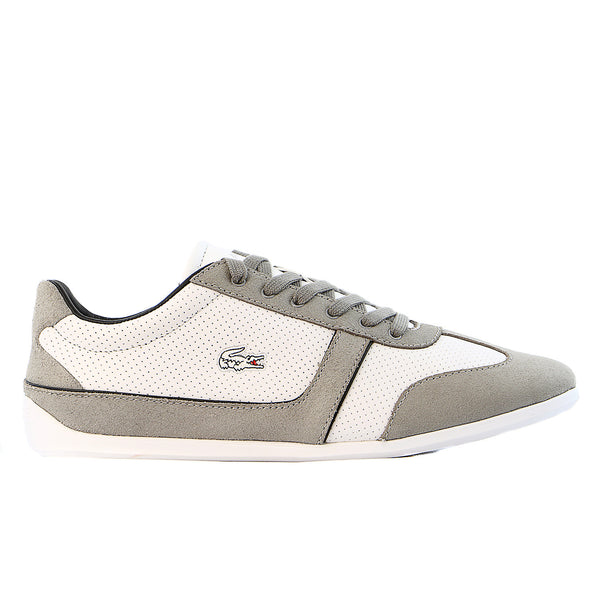 Lacoste Missano Sport Met  - White/ Brown - Womens