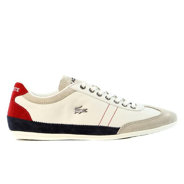 Lacoste Misano 15 LCR  - Off White/Blue/Red - Mens