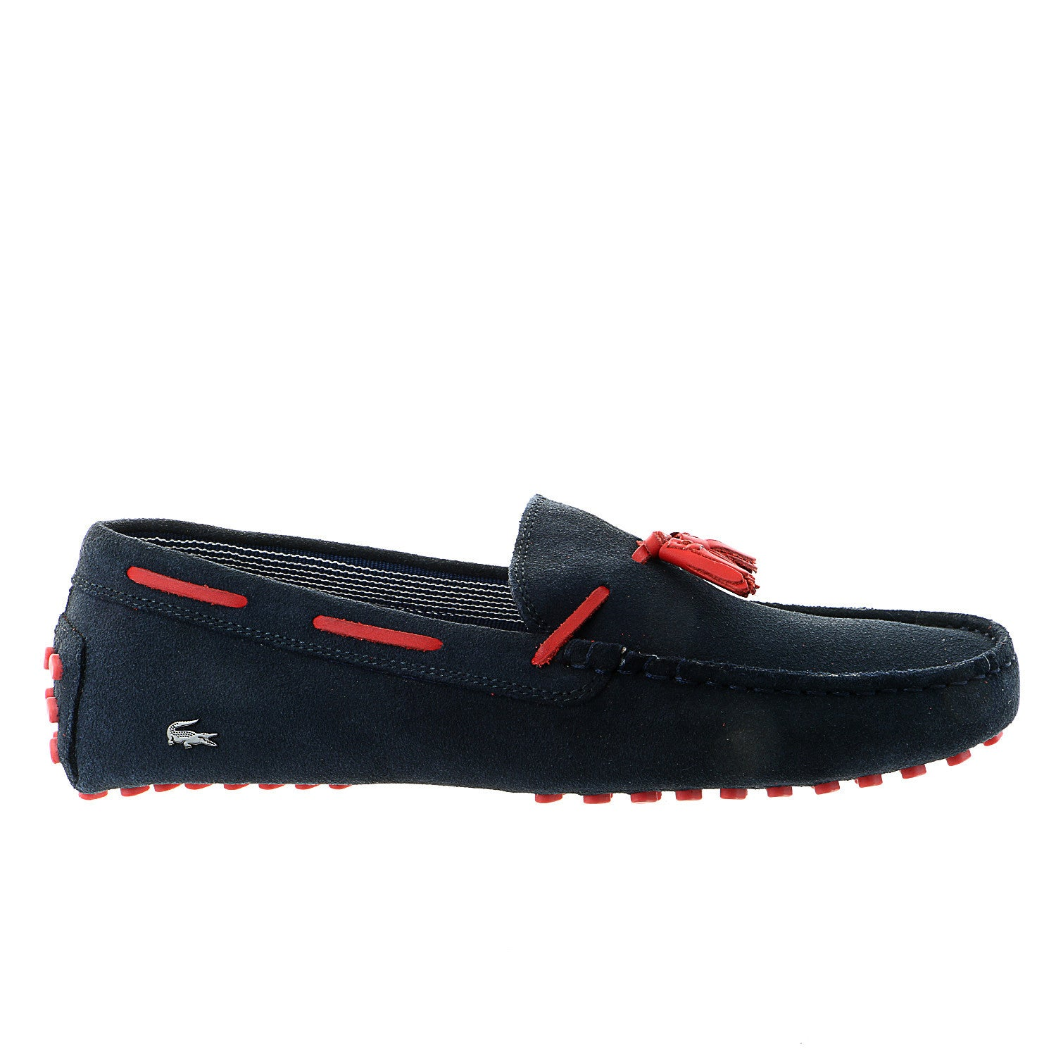 Lacoste Concours Tassle 7 Moccasin Driver Loafer Shoe - Navy - Mens