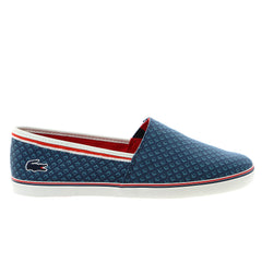 Lacoste Aimard 8 Fashion Sneaker Slip On Shoe - Dark Blue - Mens