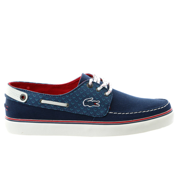 Lacoste Sumac 9 Moccasin Boat Shoe - Dark Blue - Mens