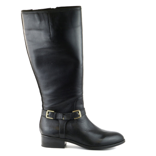 Lauren Ralph Lauren Marion Riding Boots - Dark Brown - Womens