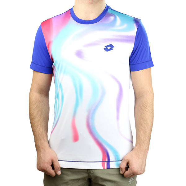 Lotto Blend Crew Tennis Tee - Mulberry Blue - Mens