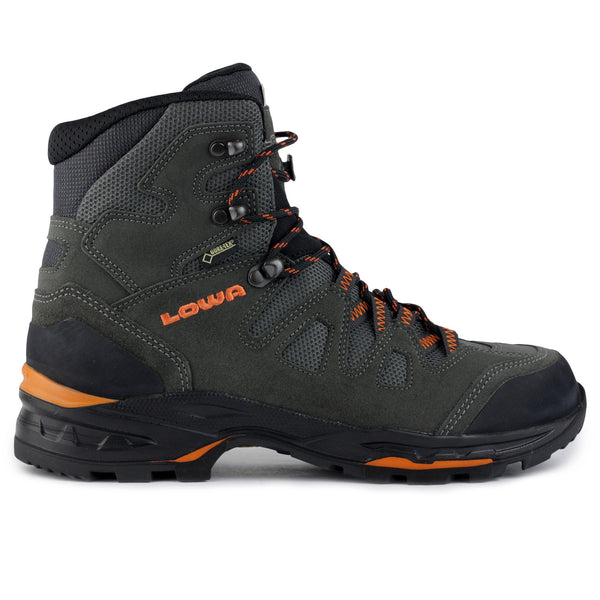 Lowa Khumbu II GTX Hiking Shoe - Asphalt/Orange - Mens