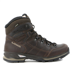 Lowa Hudson GTX Mid WS Boot - Dark Brown - Womens