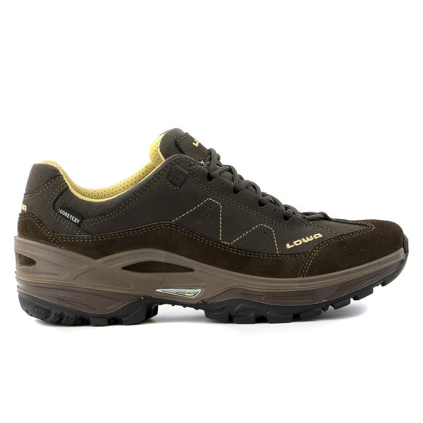 Lowa Toro GTX LO Hiking  Shoe - Dark Brown - Mens
