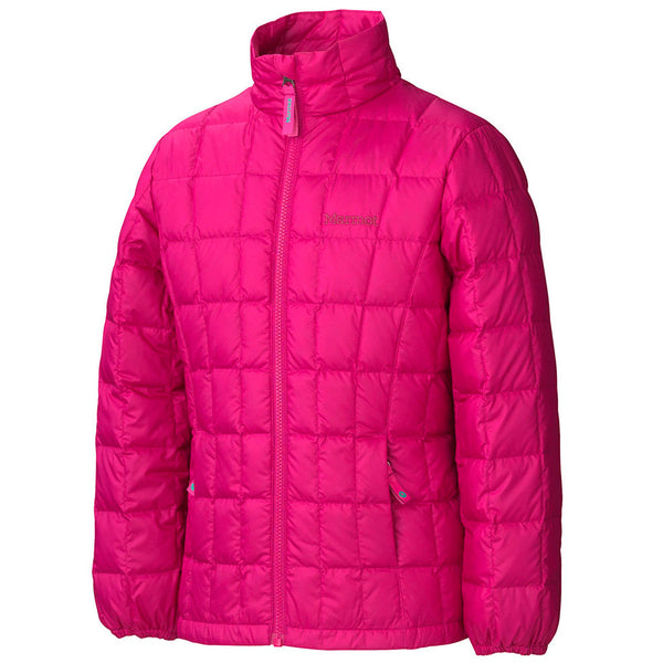 Marmot Sling Shot Jacket  - Berry Rose / Plum Rose - Girls