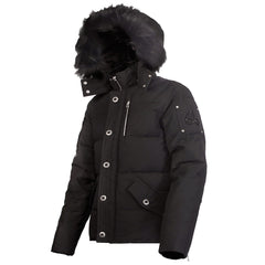 Moose Knuckles 3Q JACKET - Black - Mens