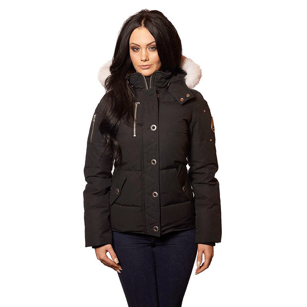 Moose Knuckles 3Q JACKET  - Black - Womens