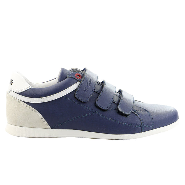 Moschino 56066 Cr. Ice/Velour/Vit. Bost Fashion Shoes - Blue - Mens