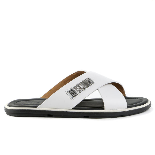 Moschino Vit. Bost Fashion Sandals - Nero - Mens