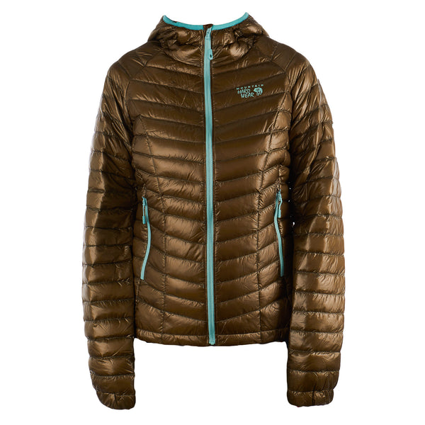 Mountain Hardwear Ghost Whisperer Down Hooded Jacket - Women's