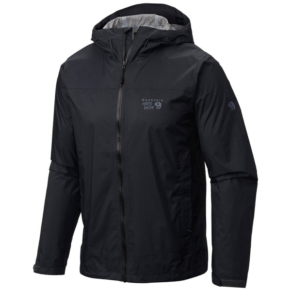 Mountain Hardwear Plasmic Ion Rain Jacket Windbreaker - Mens
