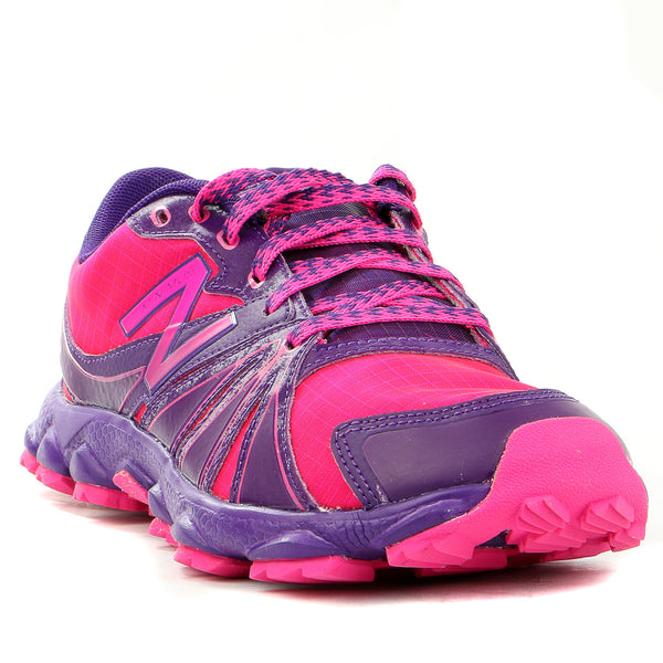 New Balance  K1010 Minimus Running Shoe - Purple/Pink - Boys