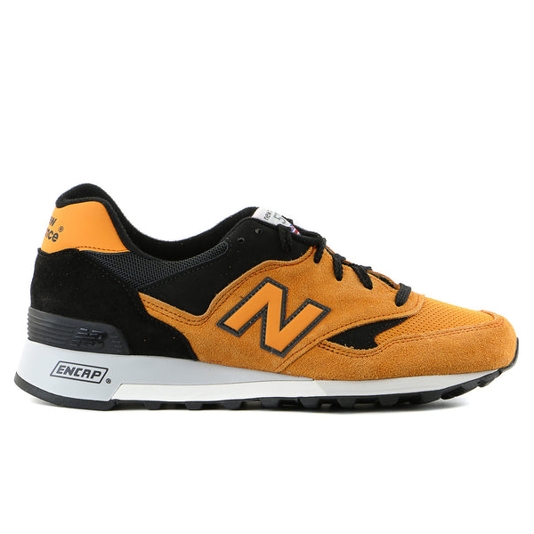 New Balance M577 Flimby Classic Running Shoe - Orange/Black - Mens