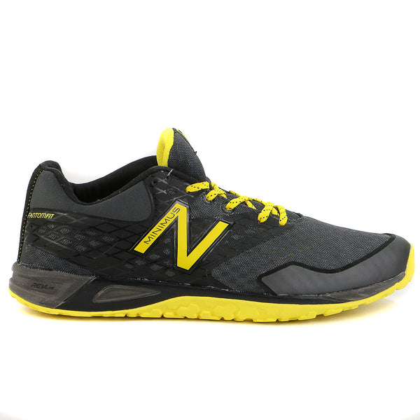 New Balance  MX00 Minimus Training Shoe - Black/Yellow - Mens