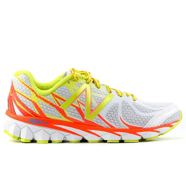 New Balance W3190 Running Shoe - White/Orange - Womens