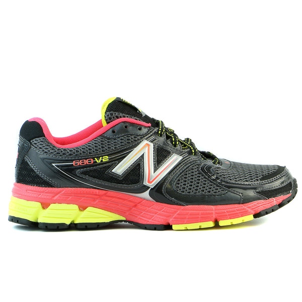 New Balance W680v2 Running Sneaker Shoe - Blue - Womens