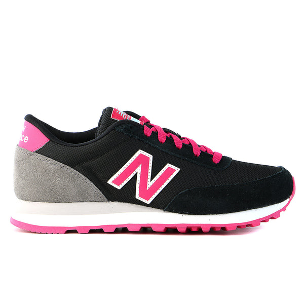 New Balance  Ballistic 501 Fashion Sneaker - Black With Popsicle Pink - Womens