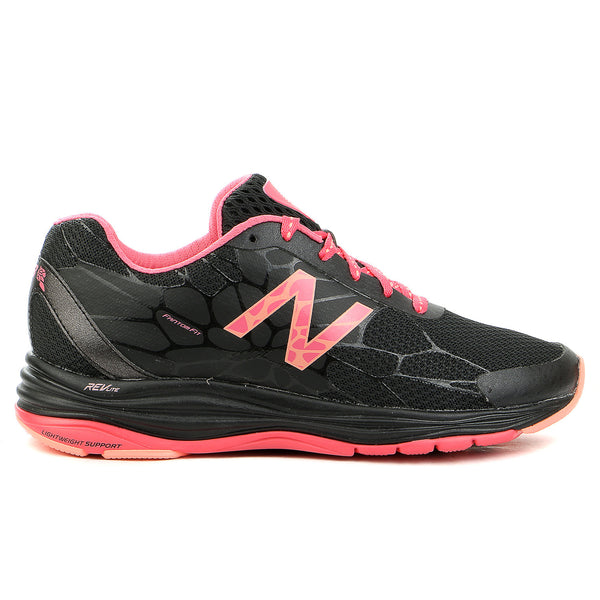 New Balance  WW1745 Walking Shoe - Black/Coral - Womens