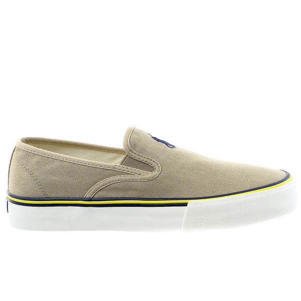 POLO Ralph Lauren Mytton Fashion Sneaker Slip On Shoe - POLO Ralph Lauren Black - Mens