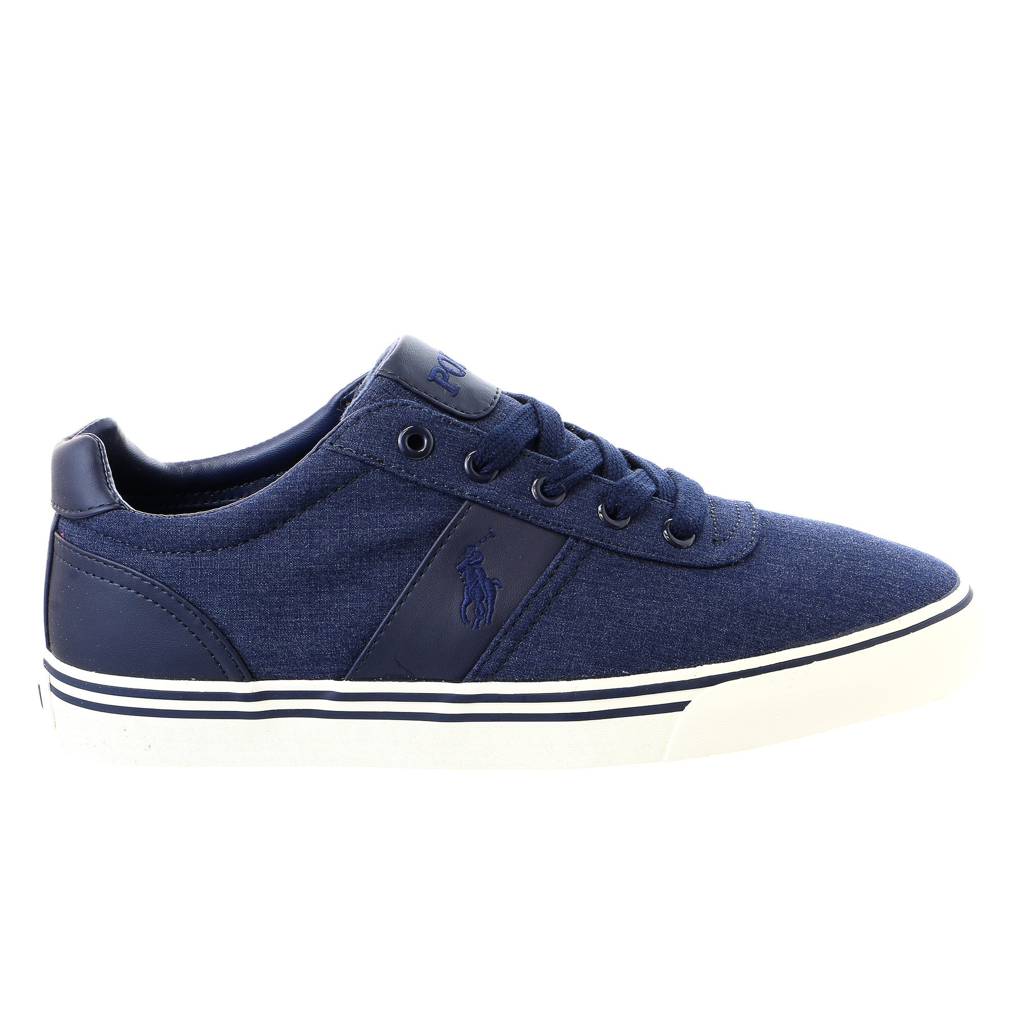 Lauren Hanford Polo Sneaker Ralph Fashion Navy Shoe Nylon Newport WeDb2IE9HY