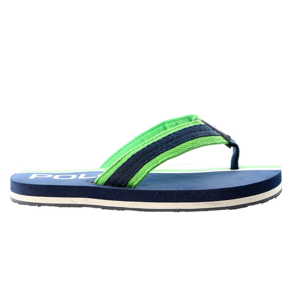POLO Ralph Lauren Ferry Thong II Fashion Sandal - Navy Green - Boys