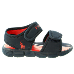 POLO Ralph Lauren Tide Sport Sandal - Navy Red - Boys