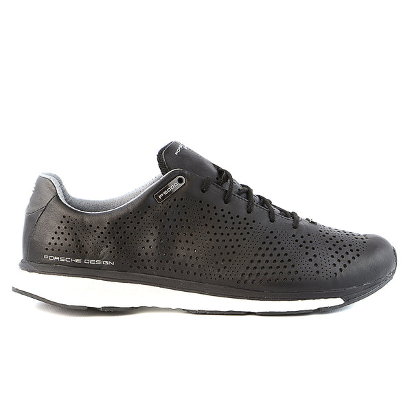 Porsche Design M Endurance Boost Sneaker Shoes - Black/Black/Light Grey -  Mens