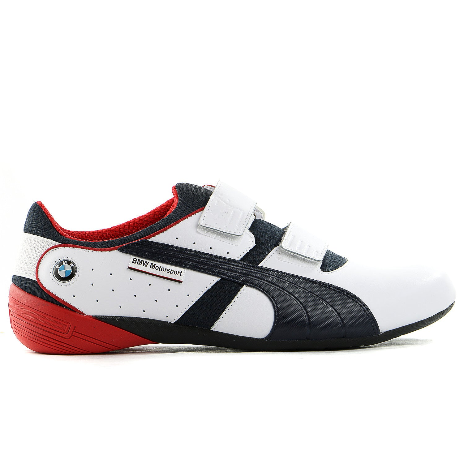 580eaf4adf356 Puma BMW Motorsport Nyter 2 Fashion Sneaker Shoe - White BMW Team Blue -  Mens