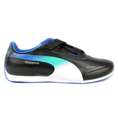 Puma Evospeed Mercedes 1.2 Low NM Fashion Sneaker Shoe - Black/White/Victoria Blue - Mens