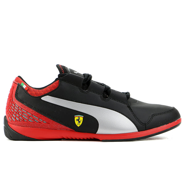 Puma Valorosso Low SF WebCage Fashion Sneaker Shoe - Black/Rosso Corsa - Mens