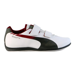 Puma Mercedes evoSpeed 1.3 Lo Driving Fashion Shoe - White/Dark Shadow - Mens