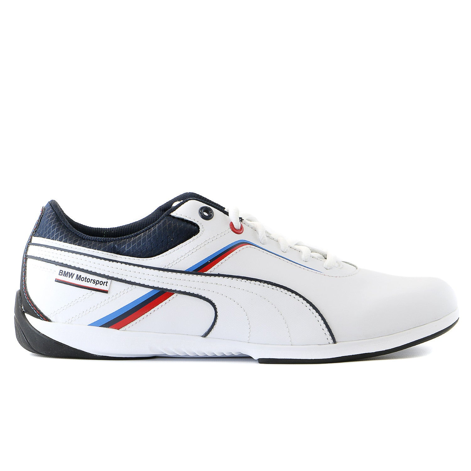 5303e3a789a11 Puma BMW Ignite Men s driving shoes - Navy Blue White - Mens ...