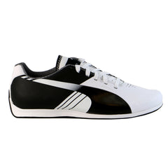 Puma evoSpeed 1.3 Lo Motorsport Fashion Shoe - White/Steel Gray/Black - Mens