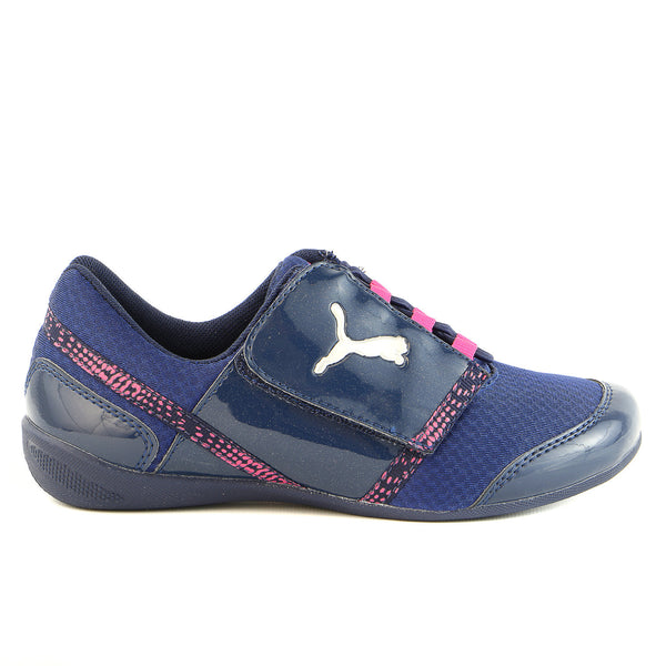 Puma Diva Slip On V Shoes - Peacoat - Girls