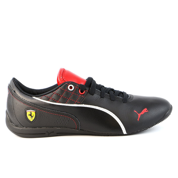 Puma Drift CAT 6 SF Flash Fashion Sneaker Motorsport Shoe - Black/Rosso Corsa - Mens