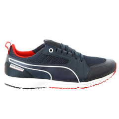 Puma BMW Nightcat Pitlane Fashion Sneaker Shoe - BMW Team Blue/High Rish Red - Mens
